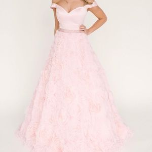 Sherri Hill Rose Pageant/Prom Gown
